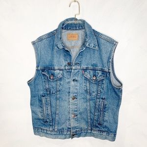 Vintage Levi's Made in the USA Denim Vest
